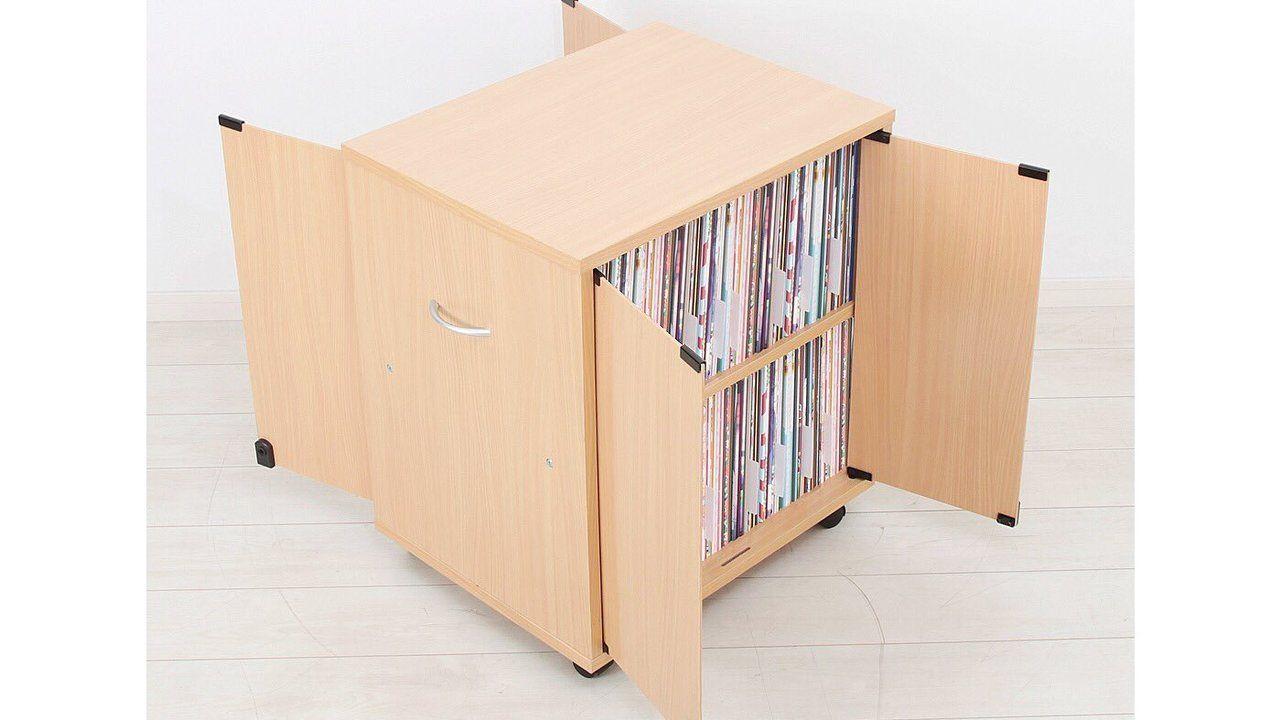 鍵付き扉&キャスター付き「同人誌ワゴン」が登場!両面開きで約744冊も収納可能
