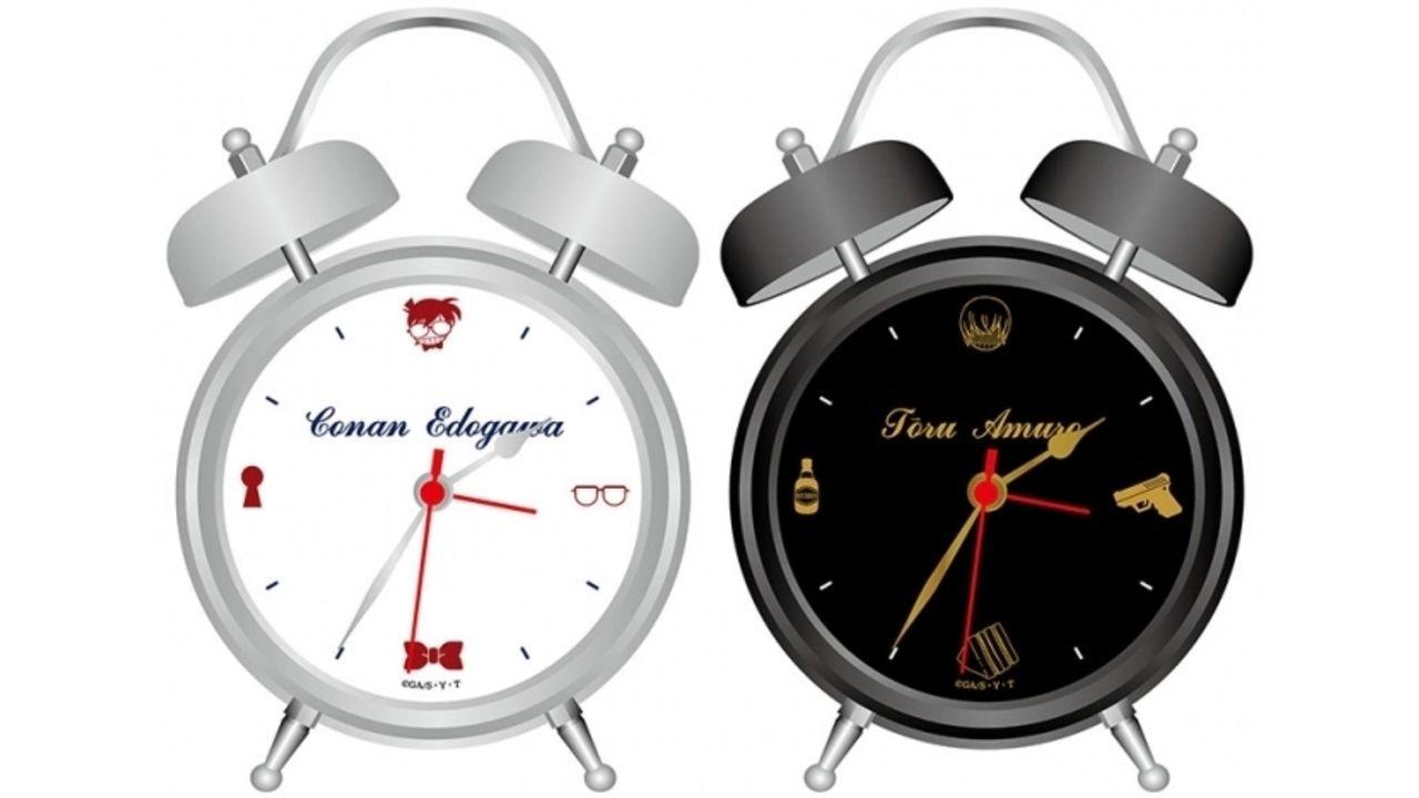 『名探偵コナン』コナン・安室の「撮り下ろし音声入り目覚まし時計」など毎日の生活が楽しくなるアイテムが続々登場!