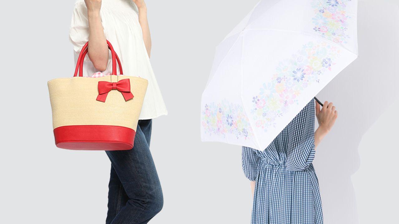 夏にピッタリ『アイナナ』IDLiSH7・TRIGGER・Re;valeをイメージしたかごバッグ&折りたたみ傘が登場!