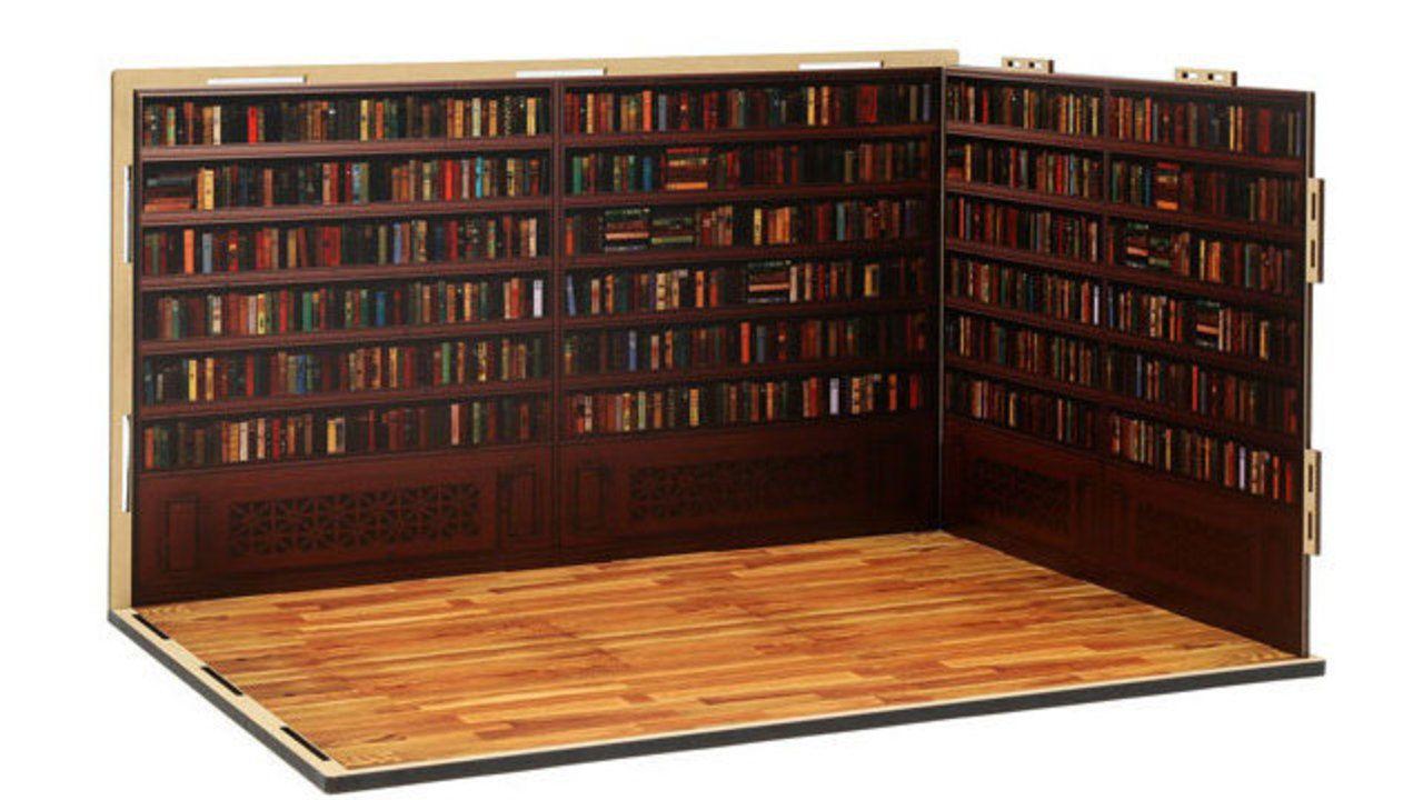 フィギュア用「ジオラマルーム(背景ボード)」が登場!書斎に教室に倉庫、好きなシーンで飾っちゃおう!