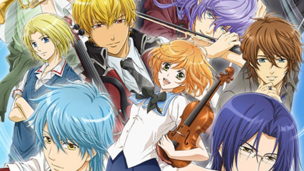 TVアニメ『金色のコルダ』全話をニコ生にて一挙放送!甘酸っぱい「青春 x 音楽 x LOVE!?」ストーリーをもう一度