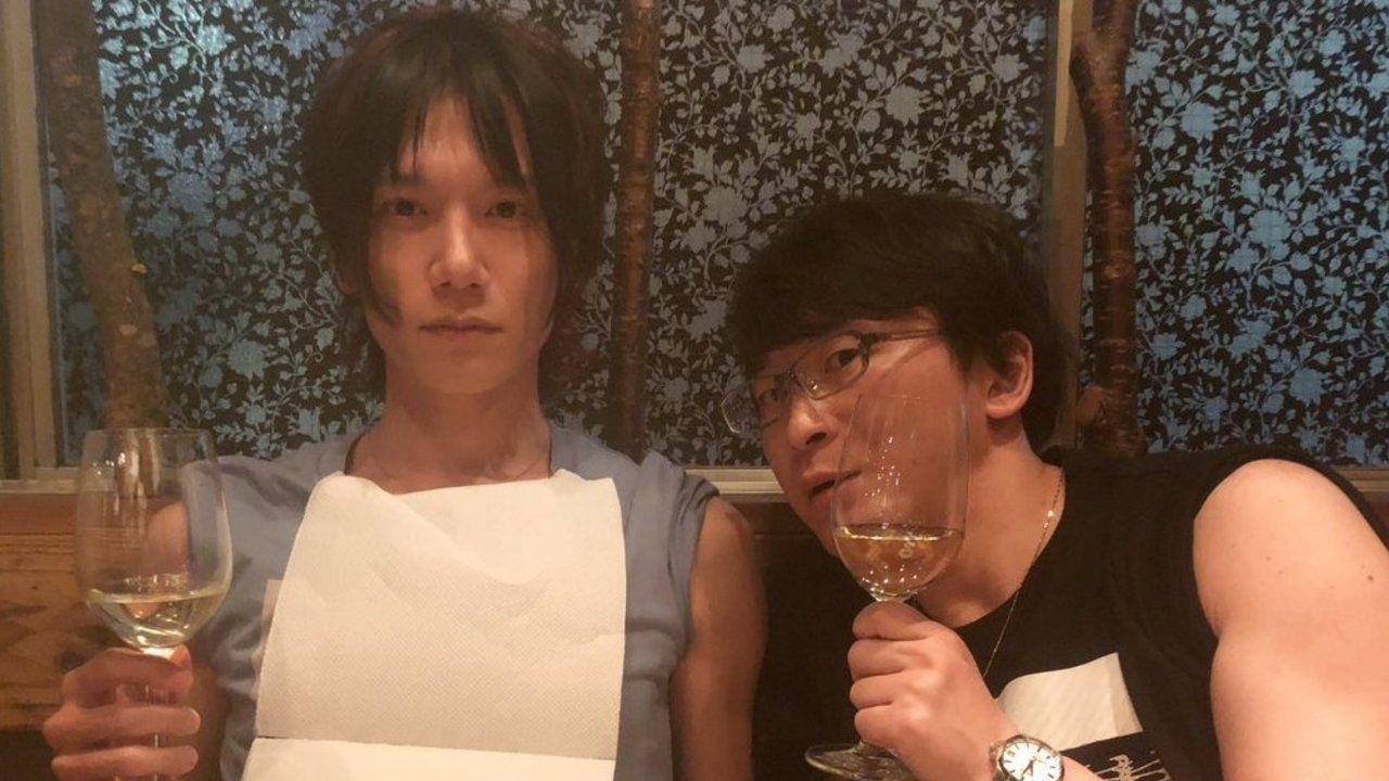 """『アイナナ』MEZZO""""キャストの2人が小野賢章さん&阿部敦さんの写真をコピー!やりとりに癒やされる人続出"""