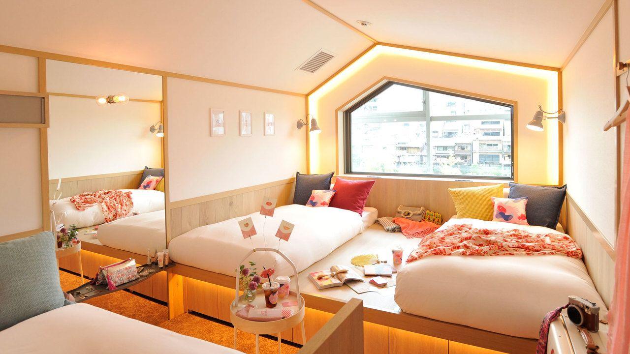 京都の女性向けホステルが大きな話題に!安くてかわいい&アメニティも充実で遠征組の力強い味方になりそう!