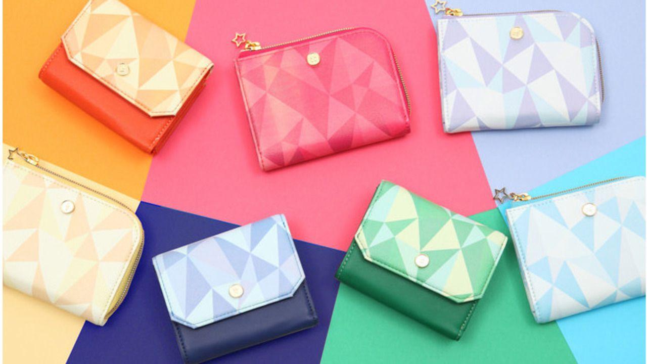 『アイナナ』12人のアイドルをモチーフにしたミニ財布&カードケースが登場!3部衣装をイメージ