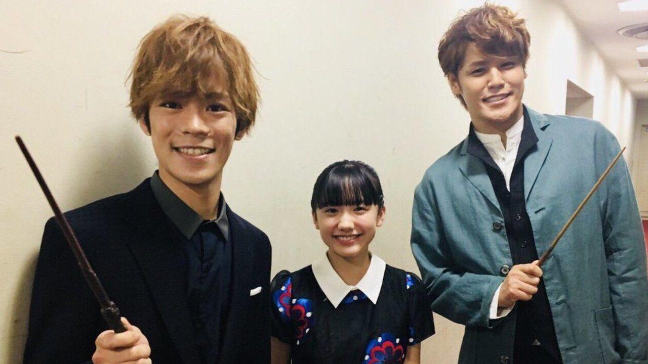 ニュートとハリーが夢のコラボ!?宮野真守さん&小野賢章さんコンビによる「おふざけ魔法使い」な写真が最高すぎる