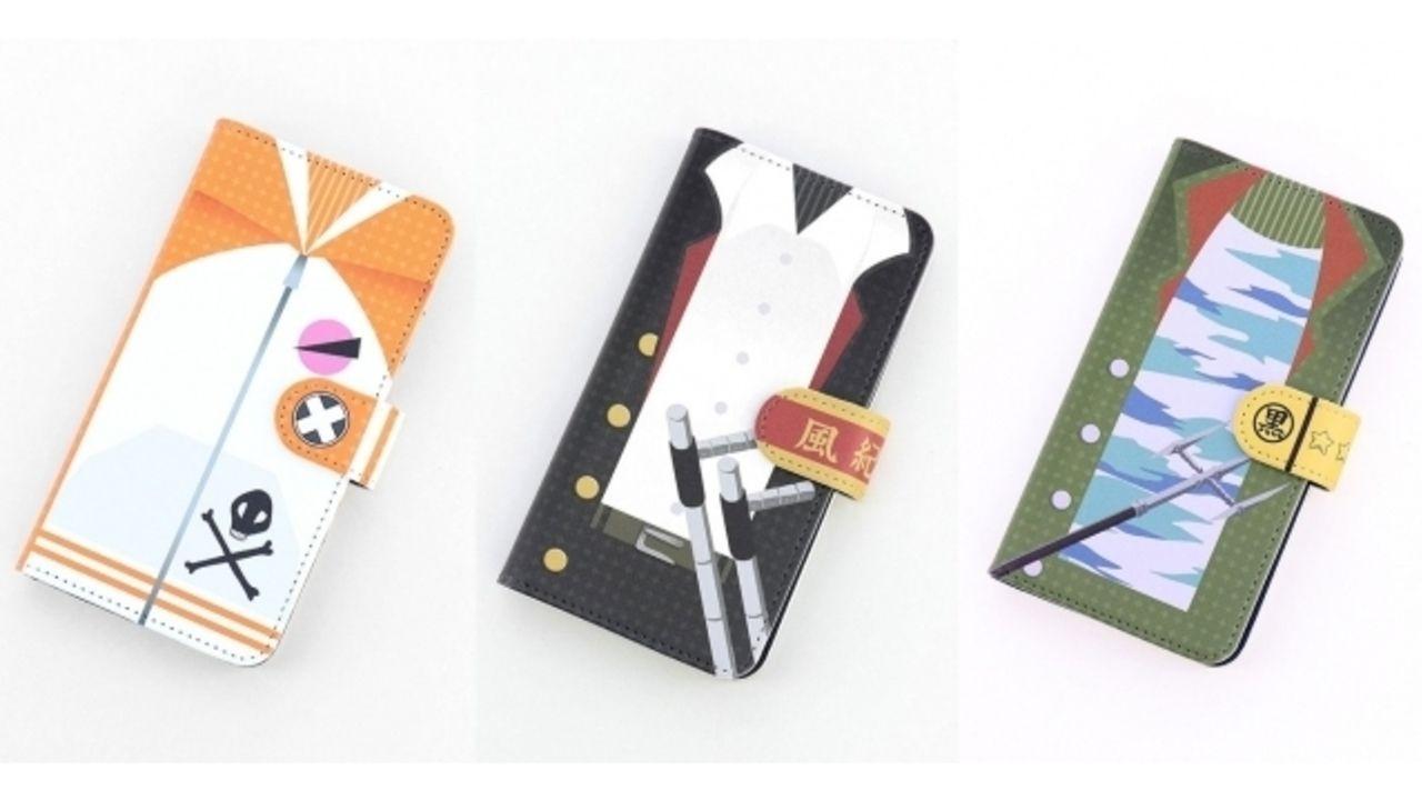 『REBORN!』ツナ&リボーン・骸・雲雀の手帳型スマホケースが発売決定!裏側のデザインにも注目