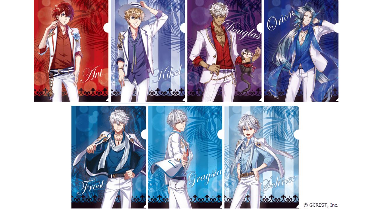 『夢100』x セブン-イレブンコラボ「サマーデートスタイル」な王子様たちのクリアファイルがもらえるキャンペーンを実施!