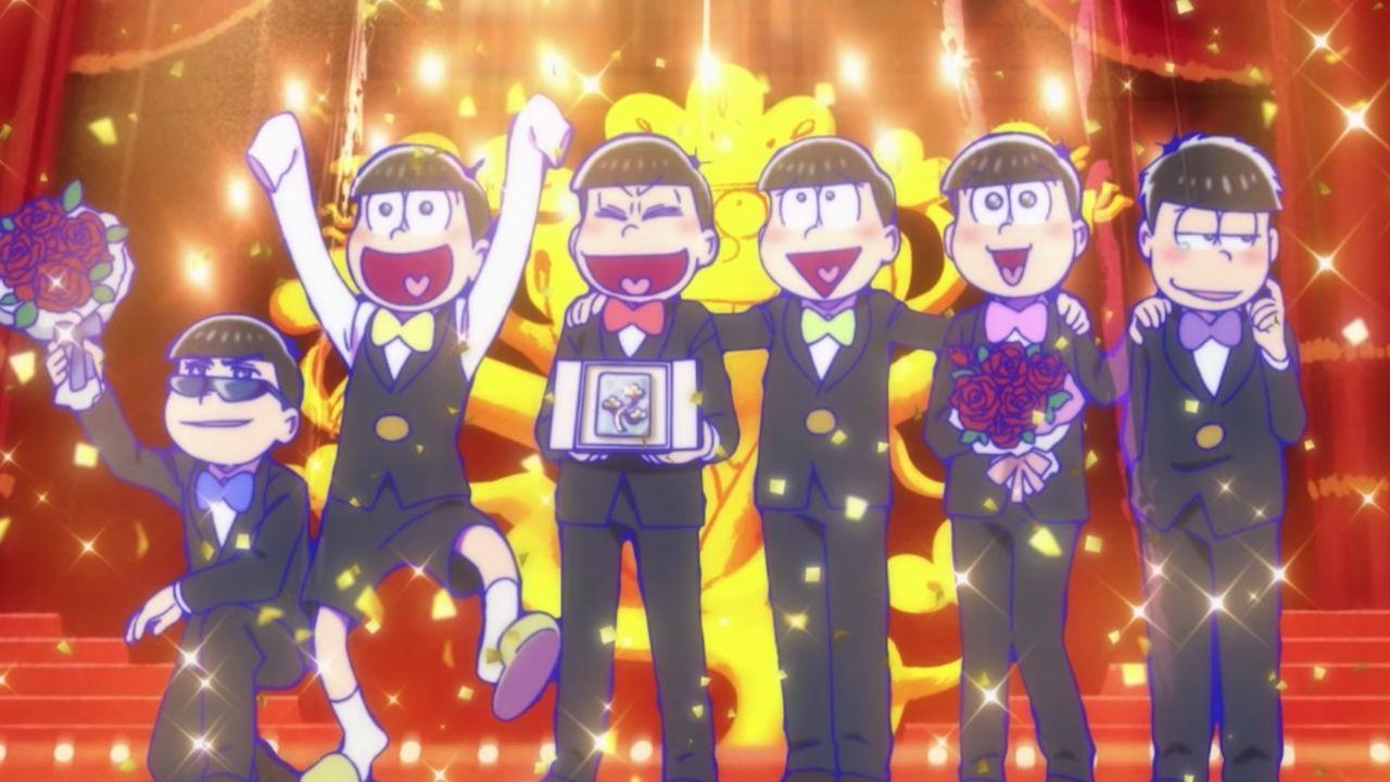6つ子が同窓会に!?『おそ松さん』が2019年春に劇場アニメ化決定&イベント「フェス松さん」レポートも到着!