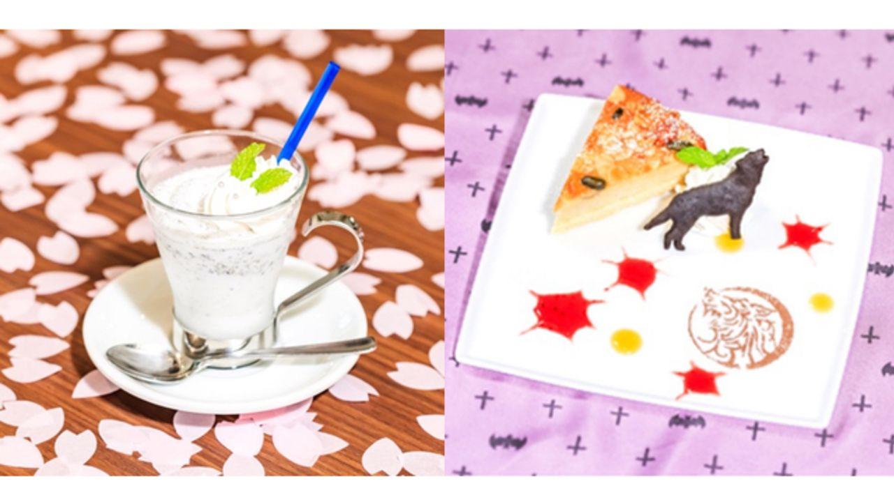 「Gzカフェ」がオトメイトパーティーとスペシャルコラボ!『薄桜鬼』『ディアラバ』など人気5作品のメニュー&グッズが展開