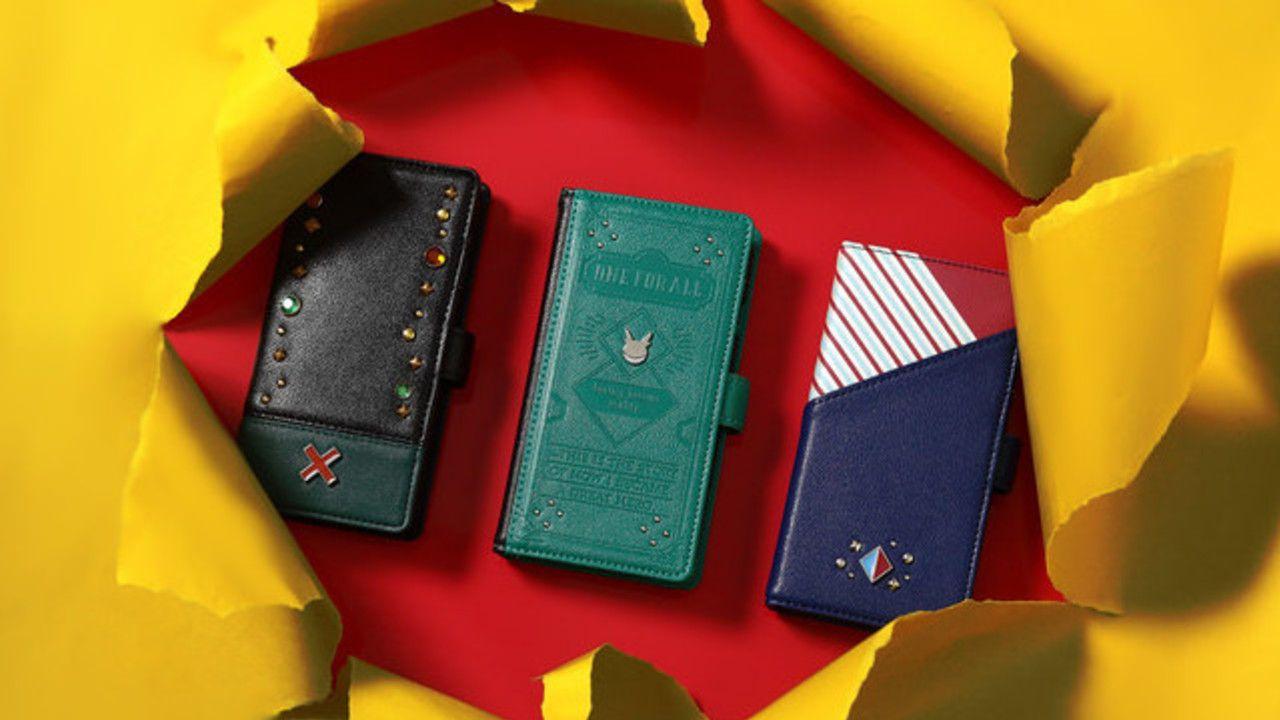 『ヒロアカ』緑谷・爆豪・轟のコスチュームをイメージした個性溢れる財布&スマホケースが登場!