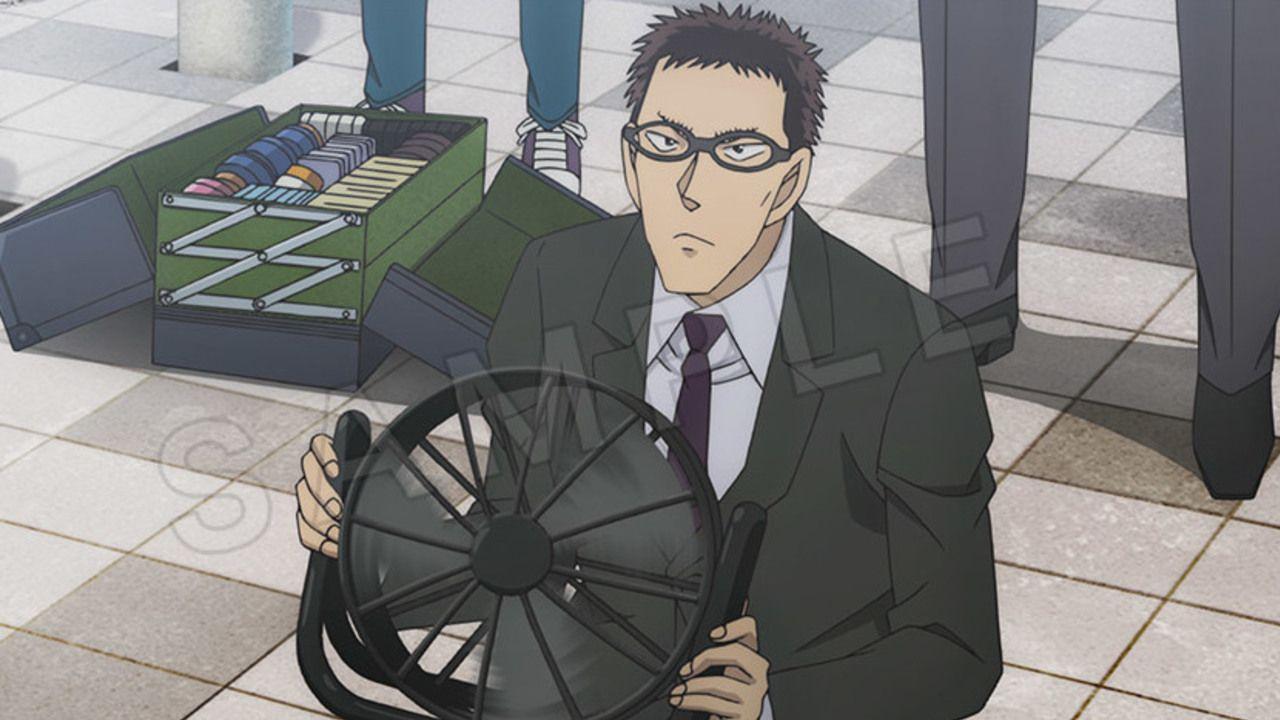 タンクトップの降谷に扇風機を持つ風見『名探偵コナン ゼロの執行人』BD&DVD特典映像の場面写真が解禁!