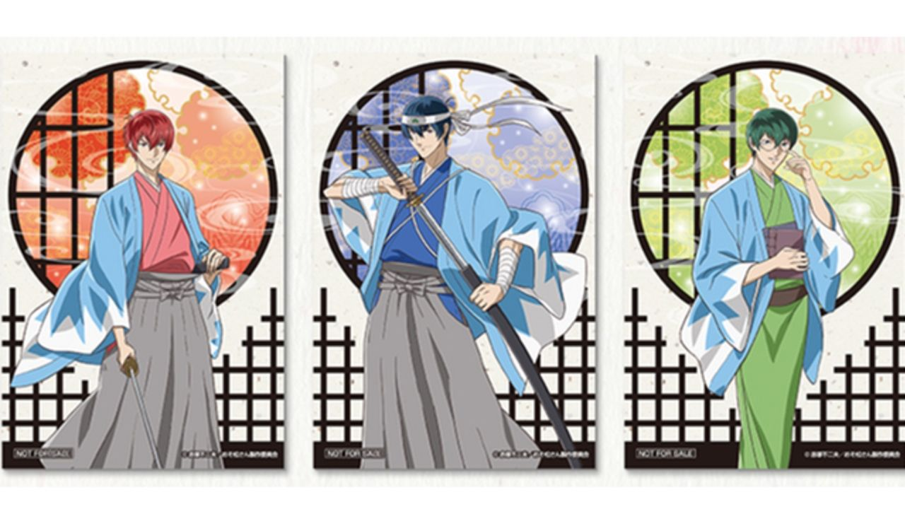『おそ松さん』セガコラボカフェが9月より開催!新選組(?)のコスチュームを着た「F6」豪華描き下ろしも!