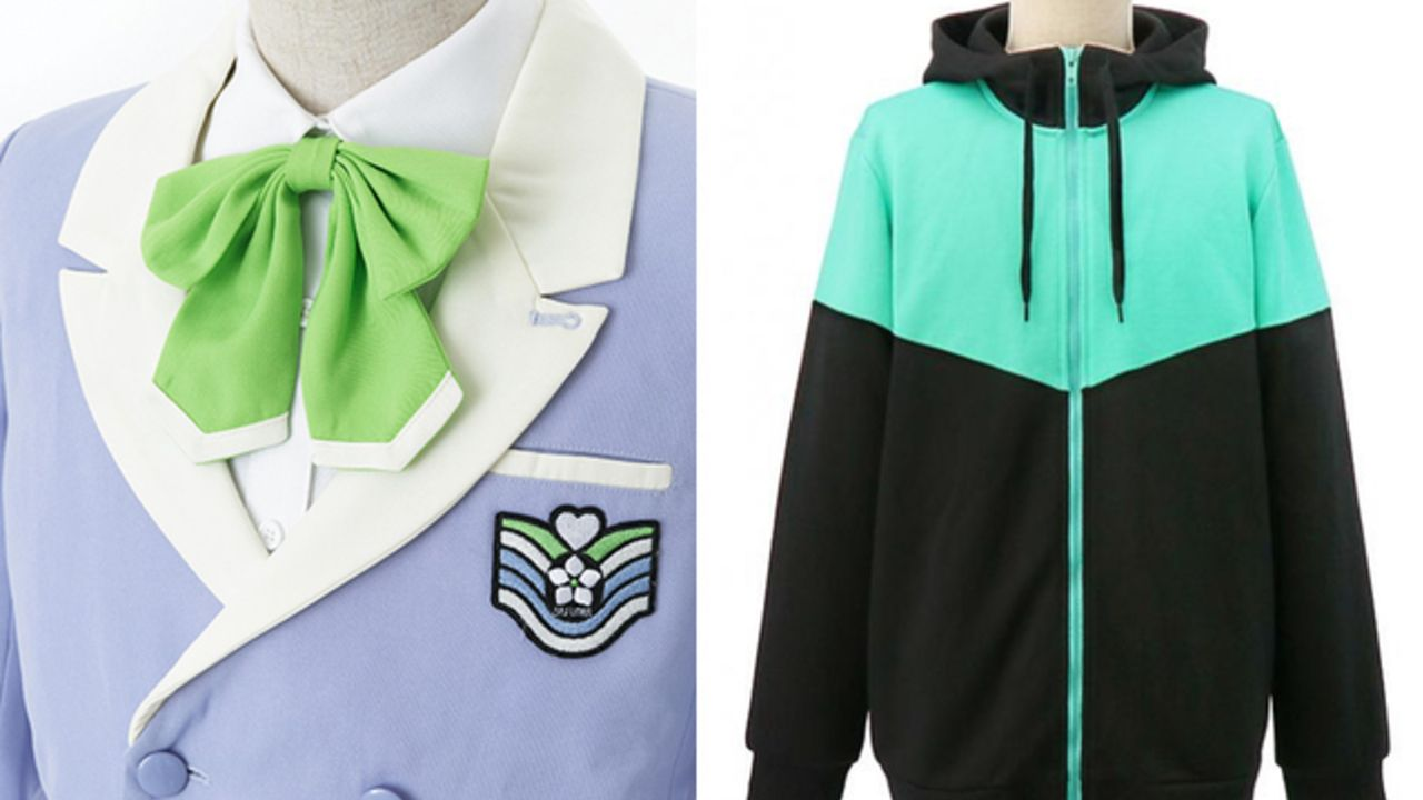 『A3!』公式監修の元「皆木綴の私服パーカー」&「聖フローラ高校制服」が発売決定!コスプレはもちろん私服にも