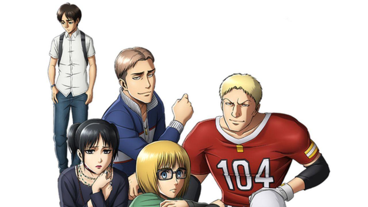 『進撃の巨人』大人気ニセ予告「スクールカースト」がついにドラマCD化!第3期BD&DVD第1巻の初回特典に!