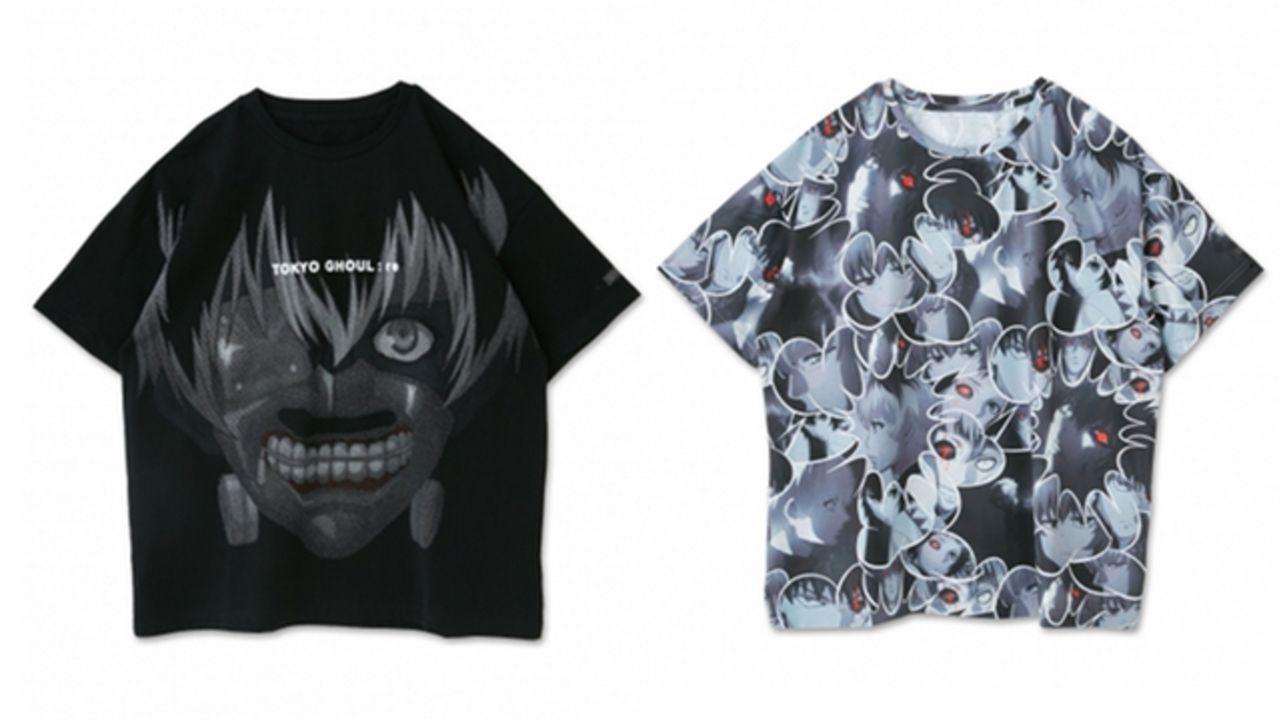 『東京喰種:re』x「R4G」アニメの世界観を表現!トレンドに落とし込んだファッションアイテムが登場