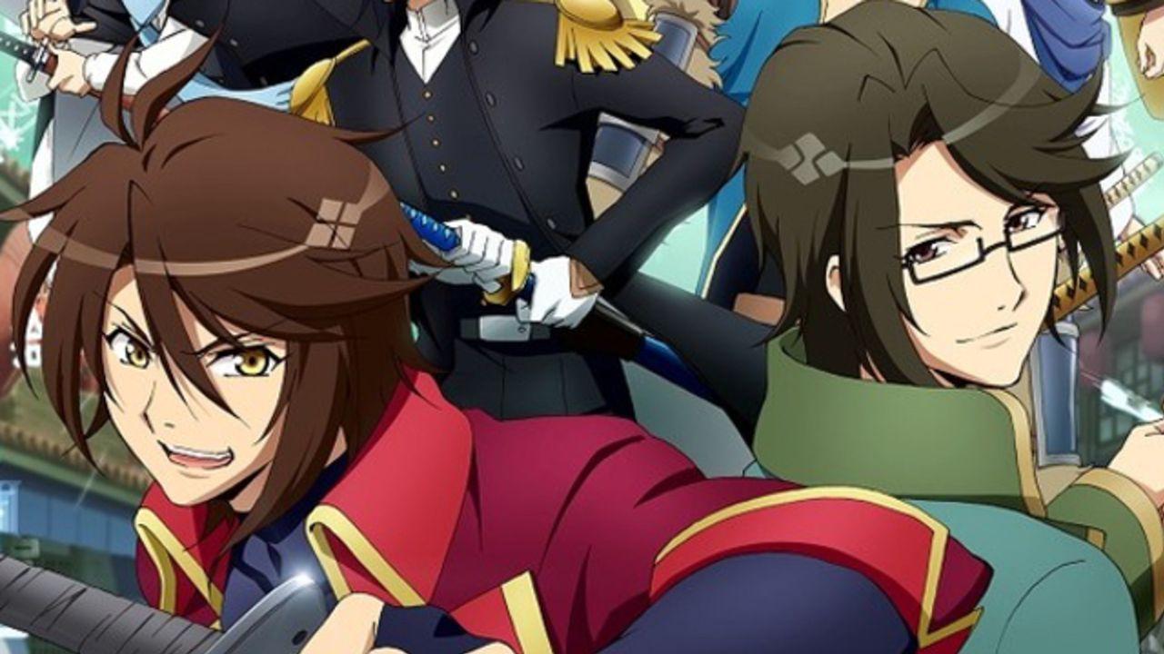 『恋愛幕末カレシ』原案のアニメ『BAKUMATSU』追加キャストに羽多野渉さんら5名が発表!キャラ勢揃いのキービジュも