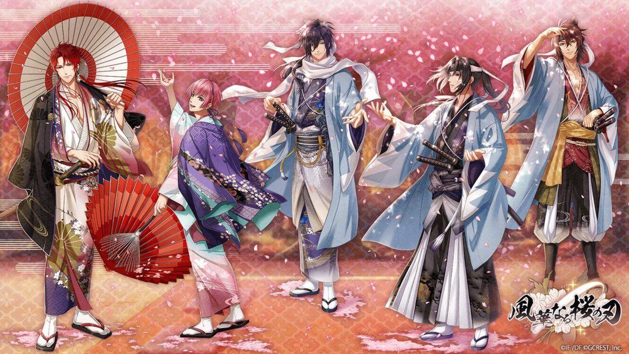 アプリ『アカセカ』と『薄桜鬼』がコラボ!土方歳三、沖田総司、斎藤一の三剣士が異世界に迷い込む!?