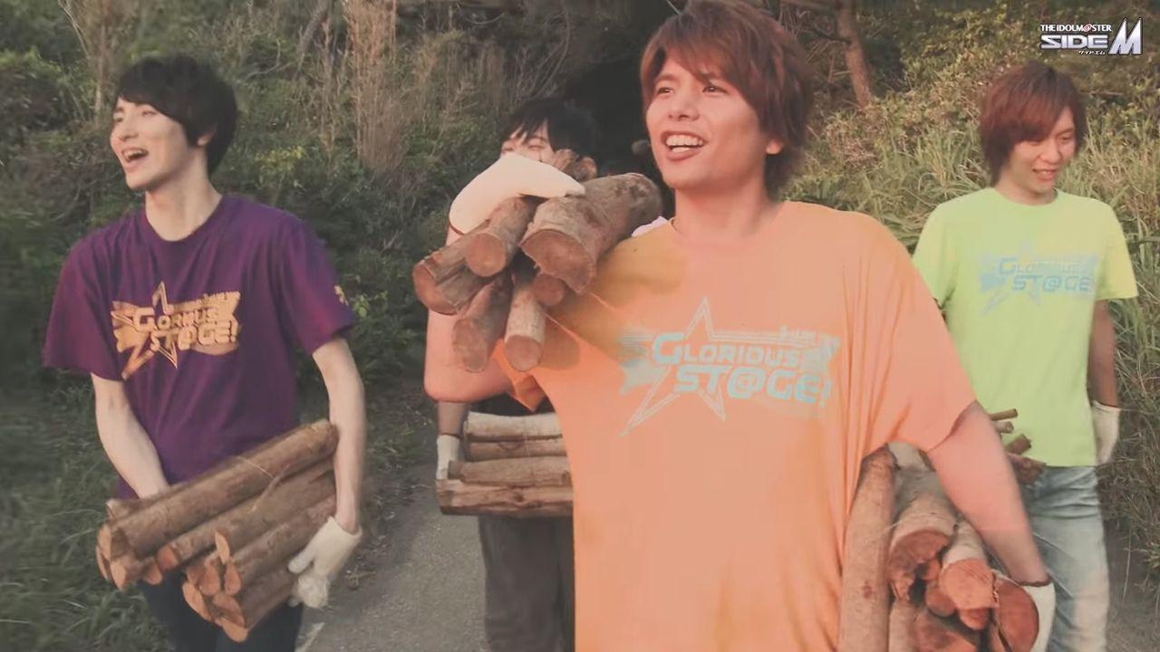 笑いあり涙あり!?『SideM』3rdライブBDの特典「合宿 of GLORIOUS STAGE」ダイジェスト映像が公開!