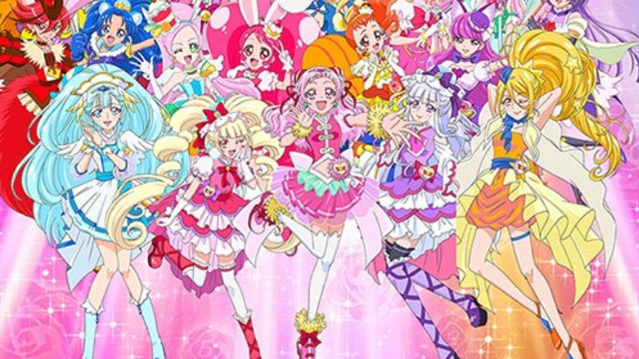 TVシリーズは初『HUGっと!プリキュア』に歴代全プリキュアが集結!さらに55人が揃うパレードが横浜で開催決定!