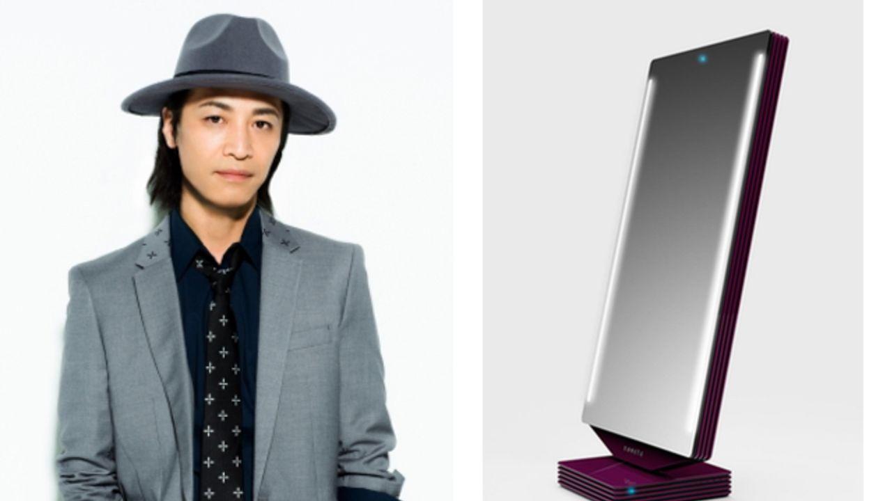 スマートミラー「novera」4人目のキャストに鳥海浩輔さんが発表!豪華声優演じるキャラが美容をサポート