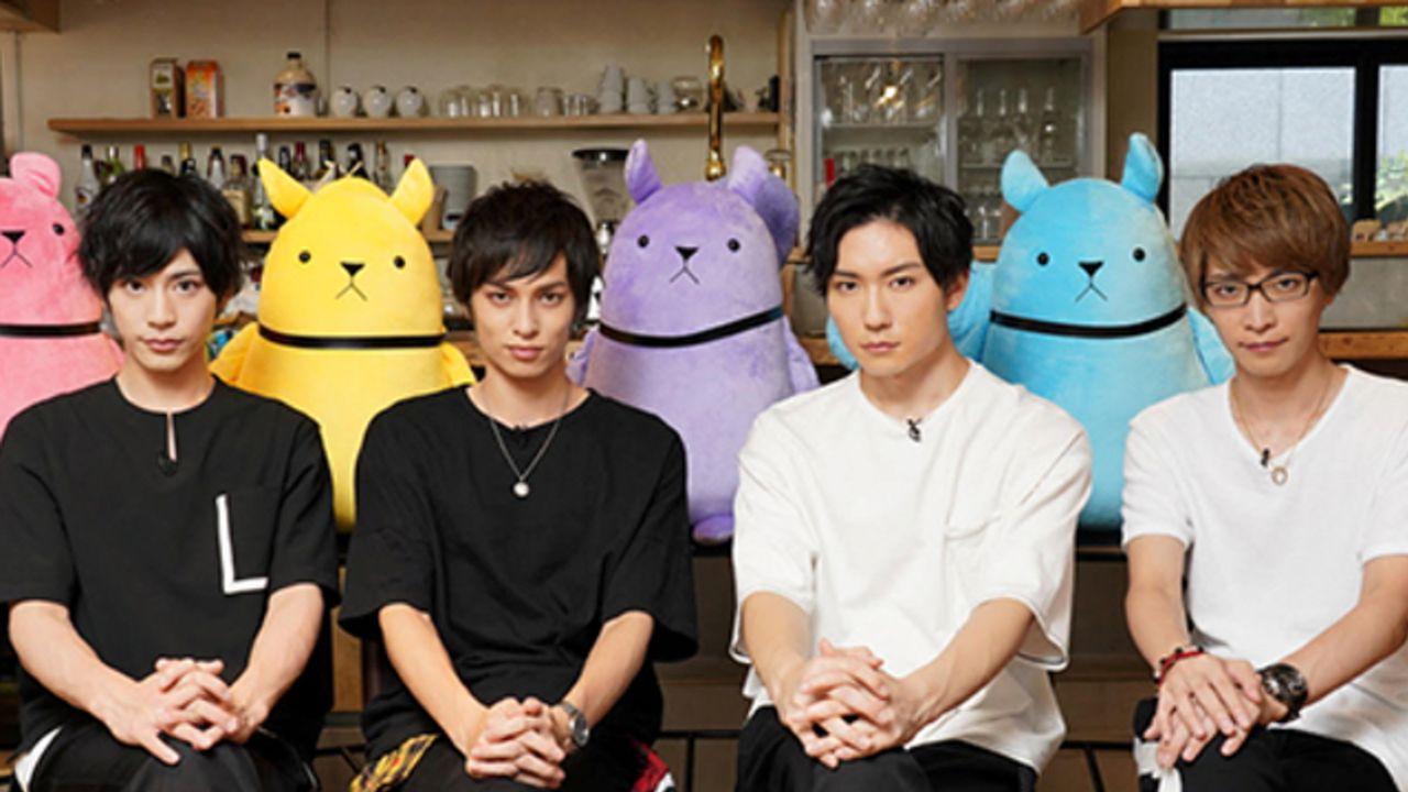 『ツキプロ』2.5次元ダンスライブ『S.Q.S』出演キャストによるTV番組が10月3日放送スタート!