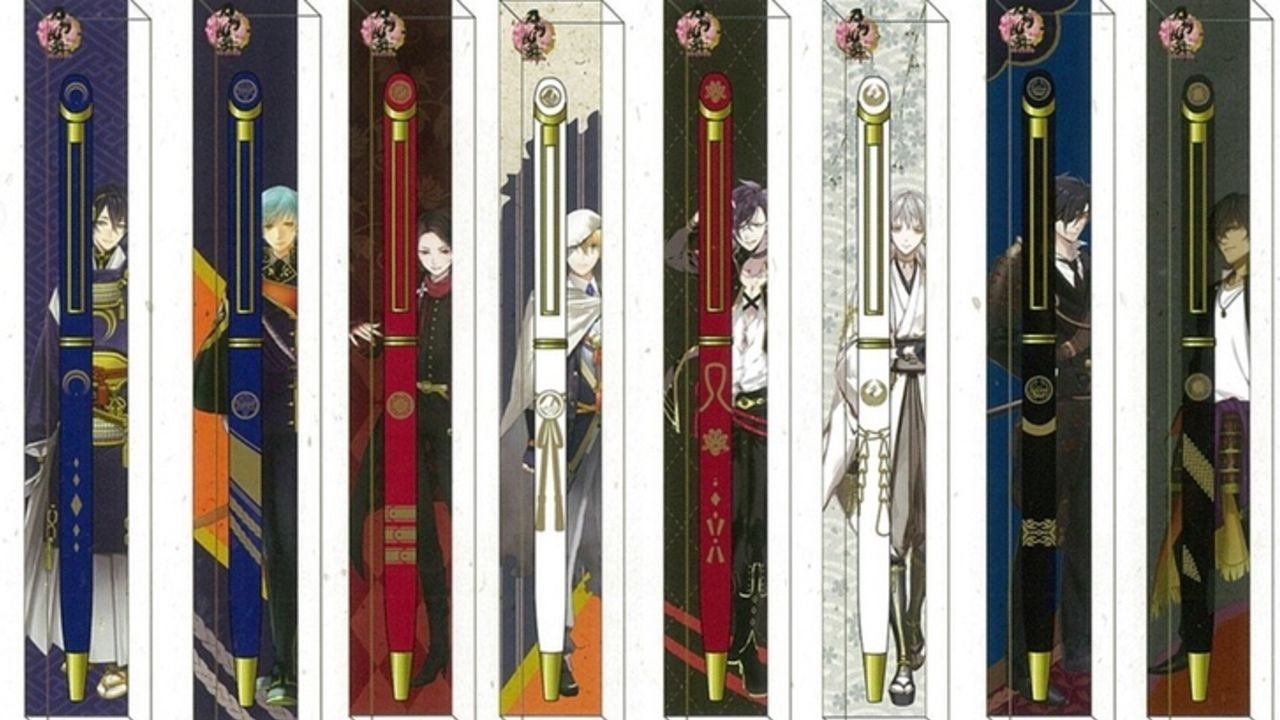 今度は使える!『刀剣乱舞』より紋がデザインされた大人なボールペンが11月に登場!