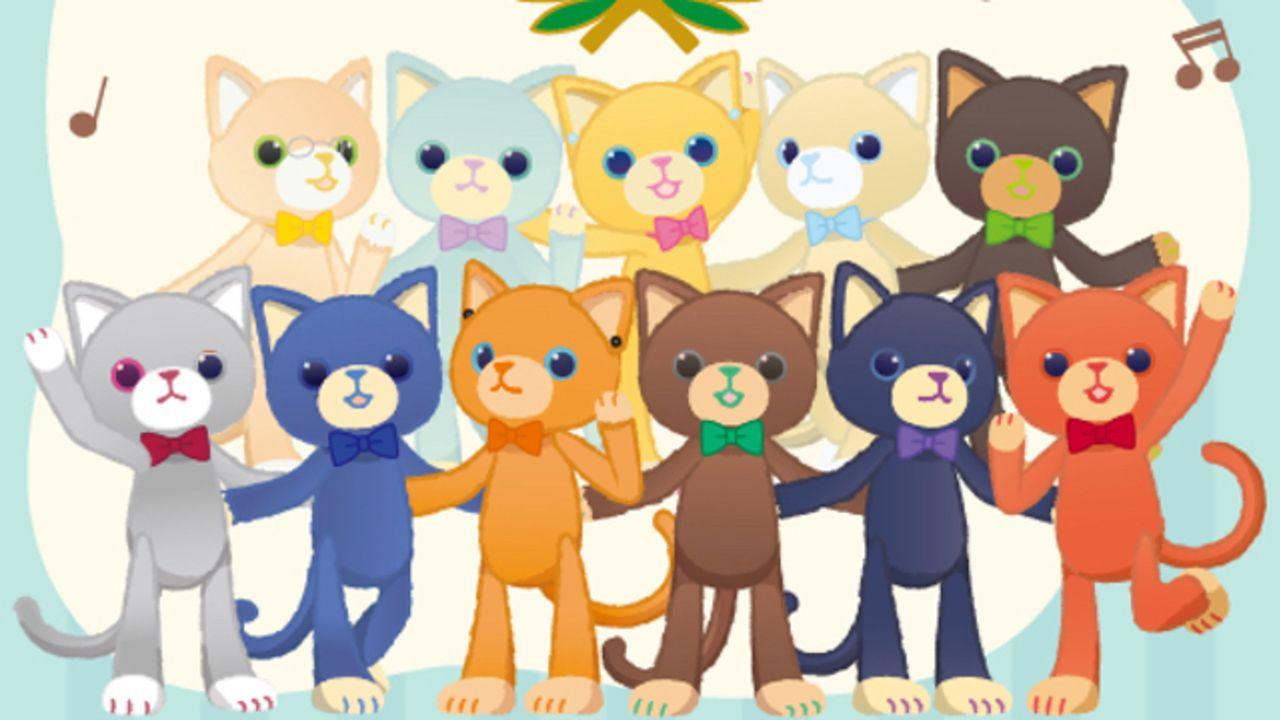 音楽が大好きなお友達「PRINCE CAT」は2周年!LINEスタンプの発売やオンリーショップの開催が決定