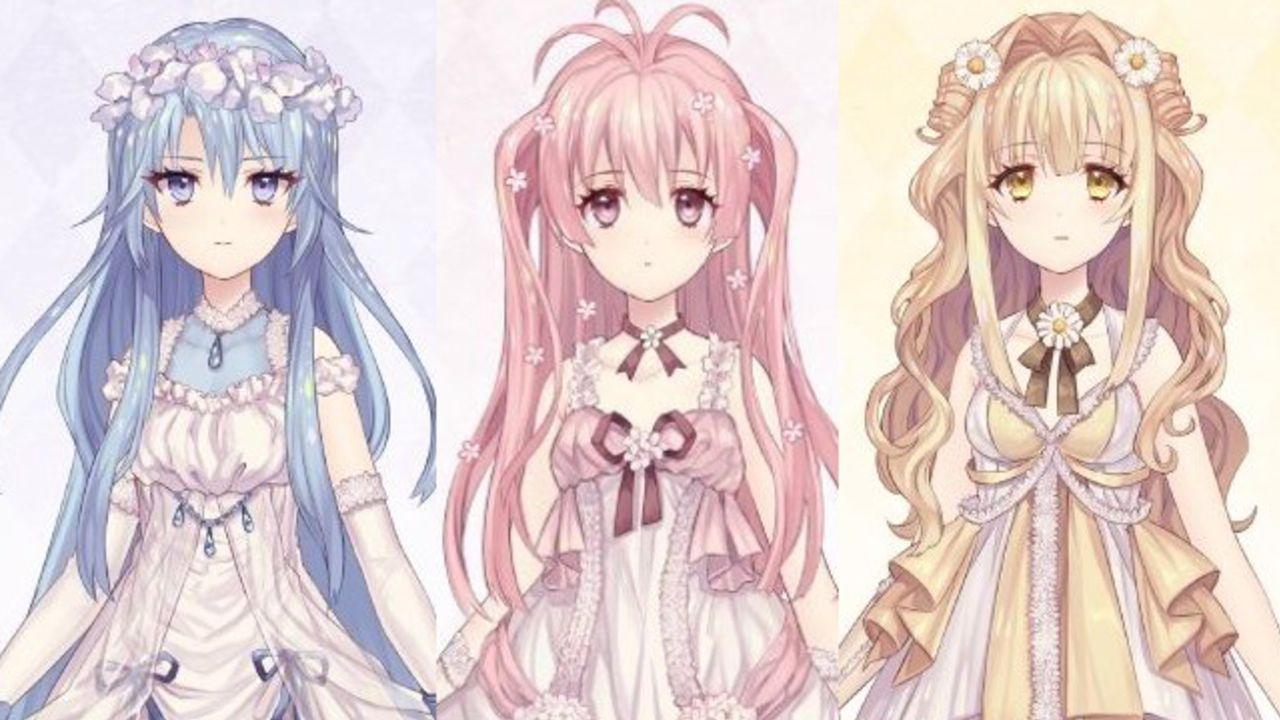 種村有菜先生がキャラ原案を務める着せ替えゲーム『Alice Closet』選べる花人形(アリス)3人が公開!