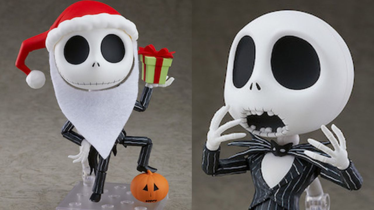 『ナイトメアー』ジャック・スケリントンがねんどろいど化!付属にはサンタ帽やクリスマスタウンに驚いてる表情パーツも