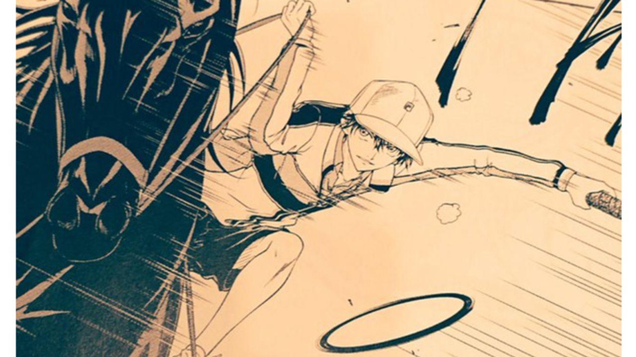 『テニプリ』今度は馬に乗ってテニスをプレー!?「ジャンプSQ.12月号」に掲載されるマンガが一部公開!