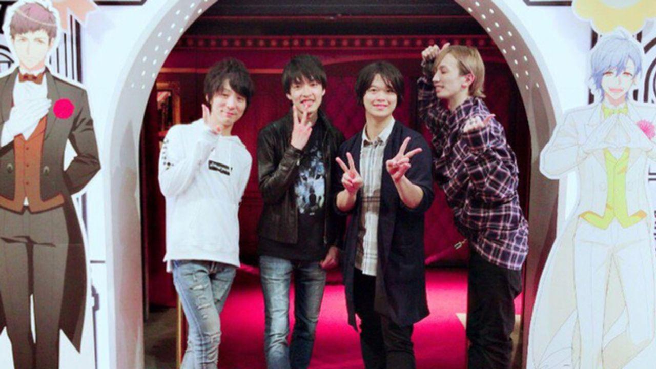 『A3!』廣瀬大介さん・田丸篤志さんら声優4人がアニカフェ&ナンジャを堪能!等身大の推しと映る写真も