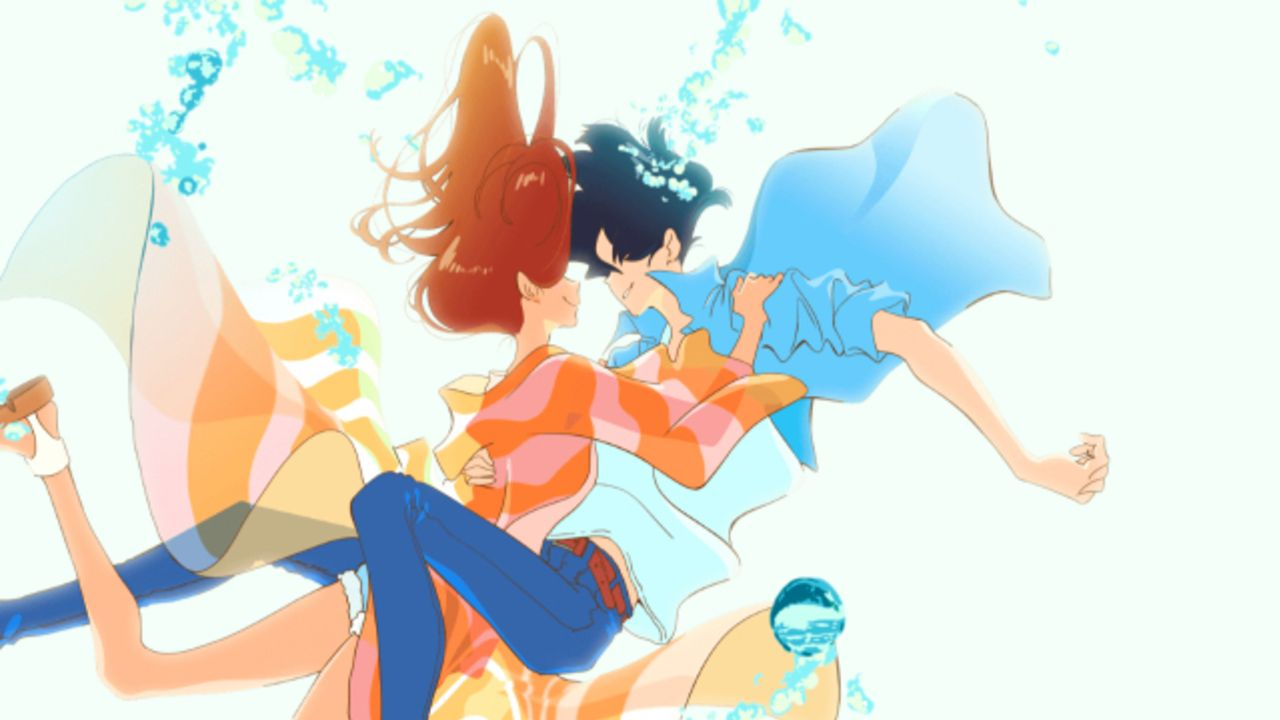 湯浅政明監督の新作劇場アニメ『きみと、波にのれたら』が公開決定!サーフィン好きの女子大生と消防士のラブストーリー