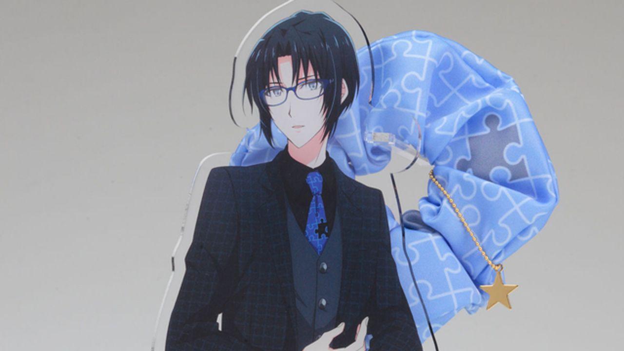 『アイナナ』JINSコラボの着用ネクタイとお揃いデザインのシュシュが発売!アクスタ付きで飾っても楽しめる!