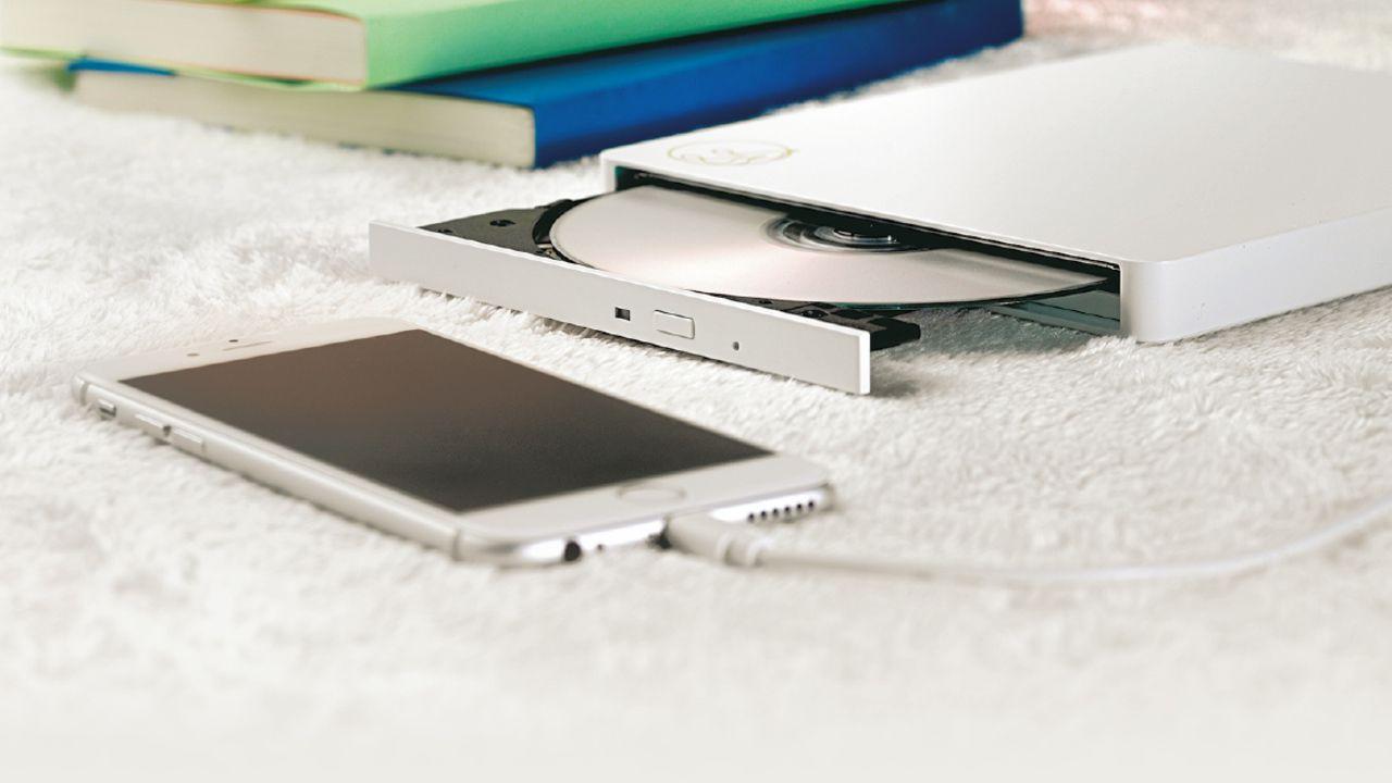 超便利!パソコン要らずでCD音源を直接スマホに取り込めるデバイス「CDレコ」が登場!