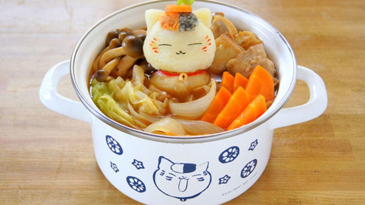 『夏目友人帳』キッチンをテーマにした一番くじが登場!ニャンコ先生も食材に囲まれて幸せそう!