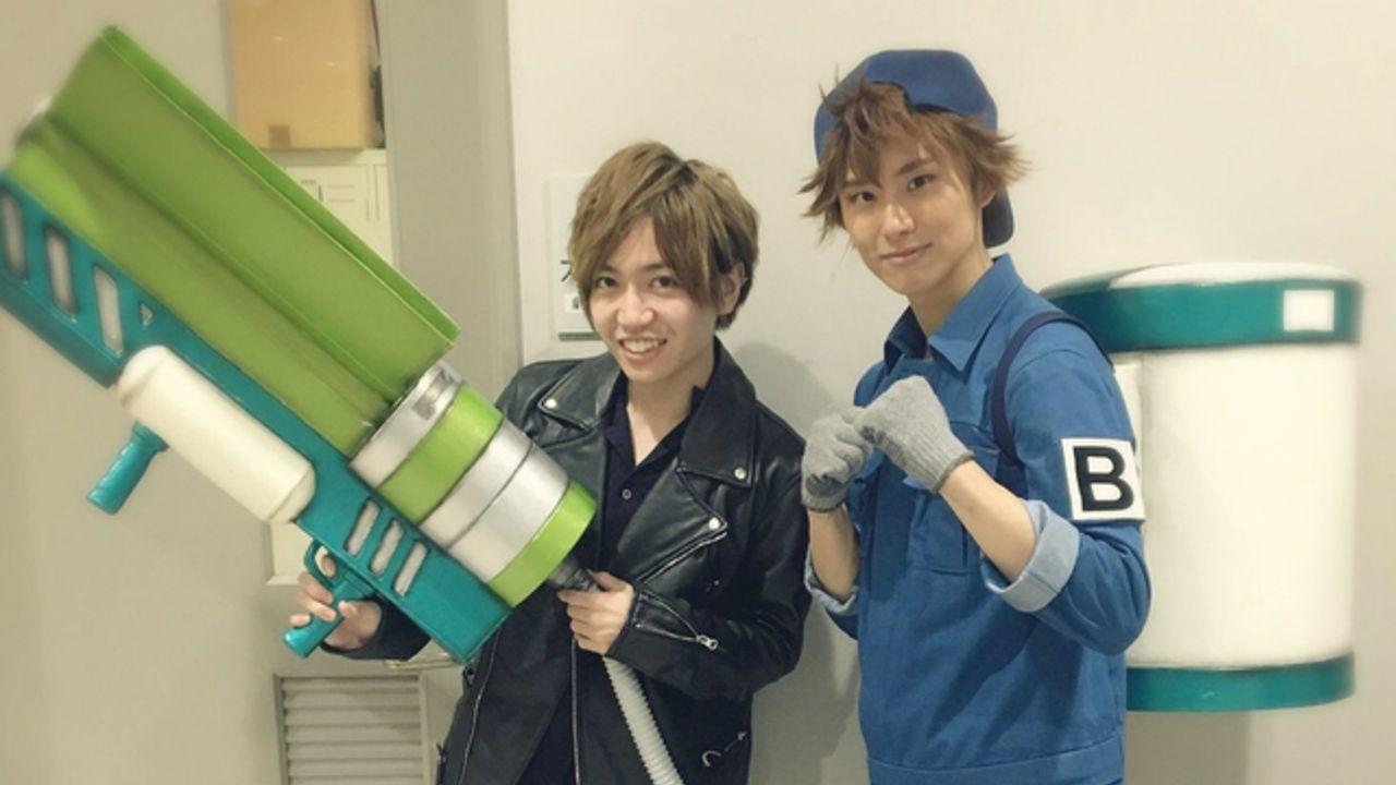 B細胞役・千葉翔也さんと正木郁さんは同い年!『はたらく細胞』アニメと舞台の「B細胞」が夢のツーショット!
