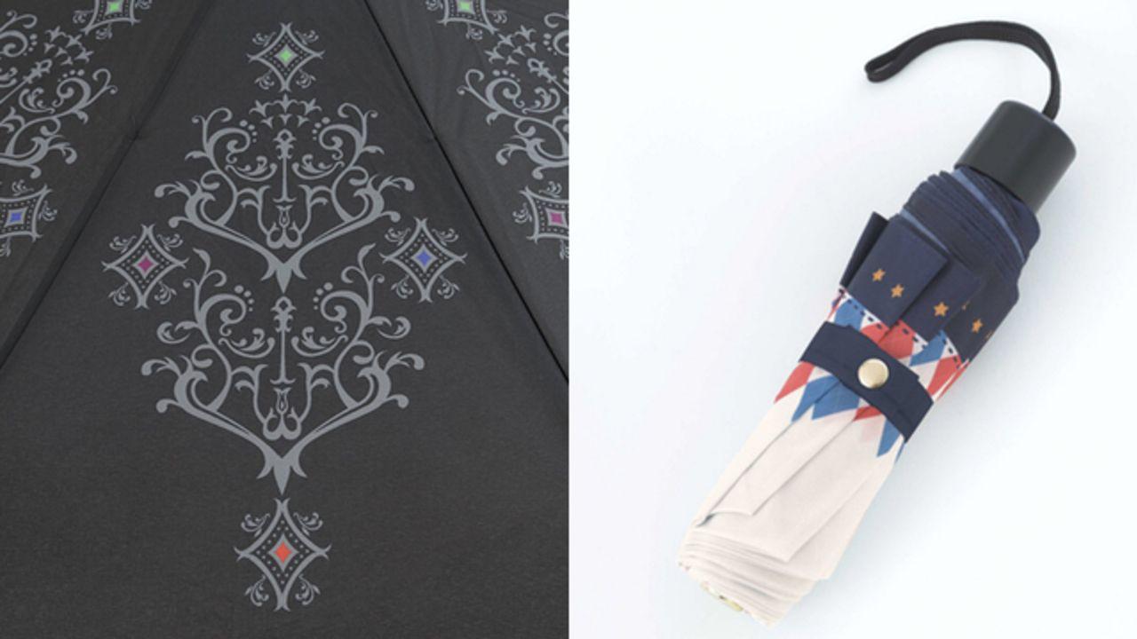 """シンプル可愛い『あんスタ』12ユニットのロゴや衣装をイメージした""""折り畳み傘""""予約スタート!"""