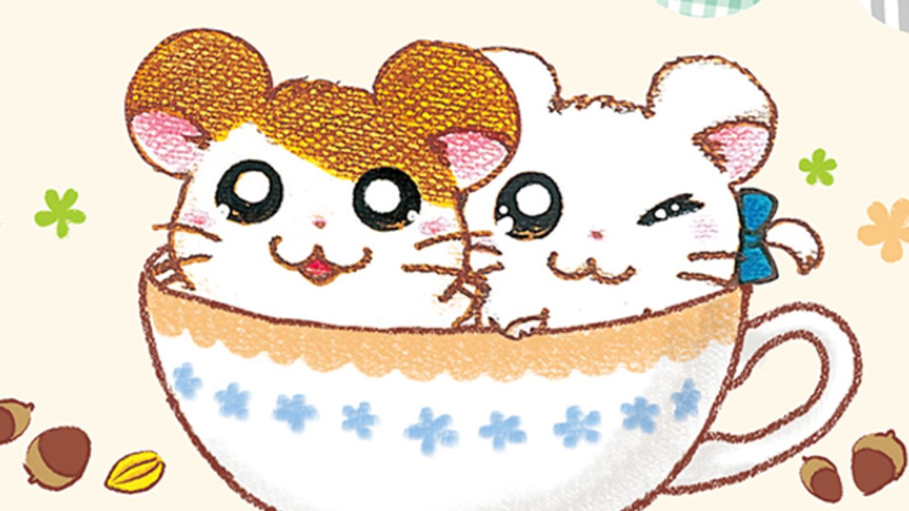 『ハム太郎』20周年を記念した「ハム太郎カフェ」開催決定!食べるのがもったいないフードや可愛いグッスが登場
