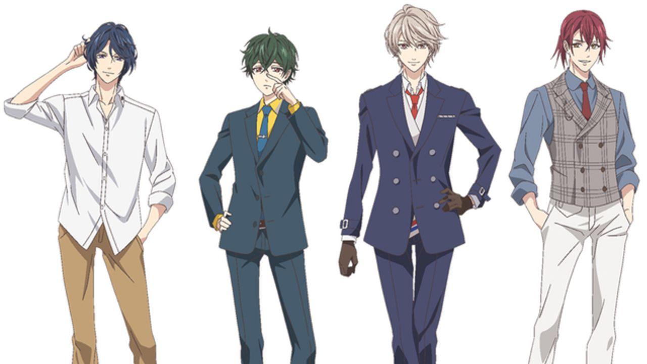 TVアニメ『スタマイ』Revel&都築兄弟キャラクター設定が解禁!各キャラの立ち絵と表情設定を公開