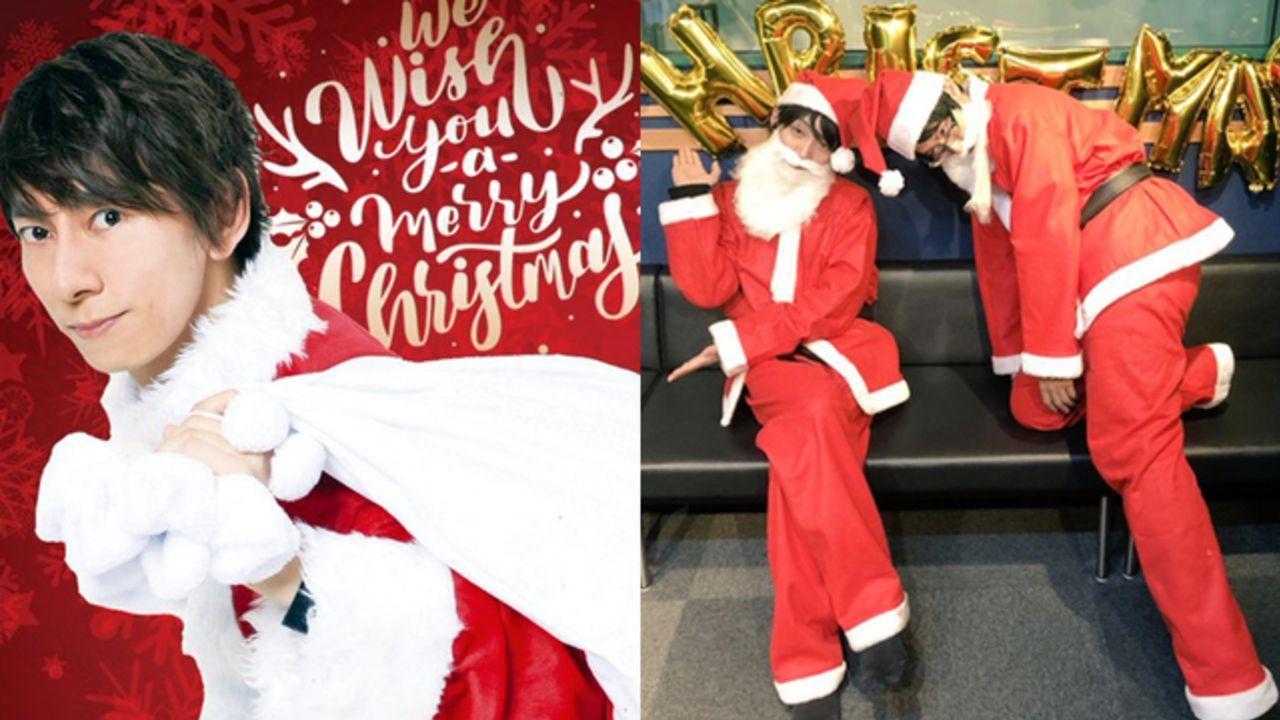 Merry Christmas!声優さんのサンタコス&作品の描き下ろしイラストなど「クリスマス」ツイートまとめ