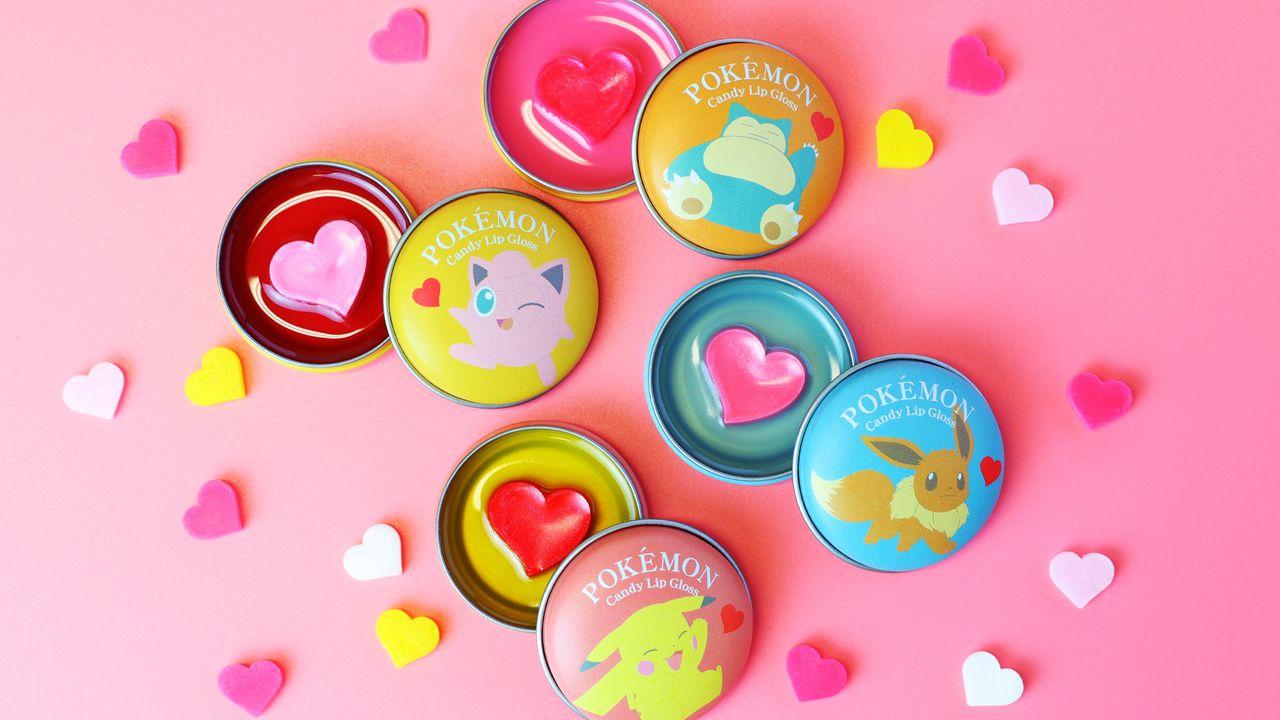 『ポケモン』立体ハートがポップでキュート!甘いはちみつの香りの「ポケモンキャンディリップグロス」発売中