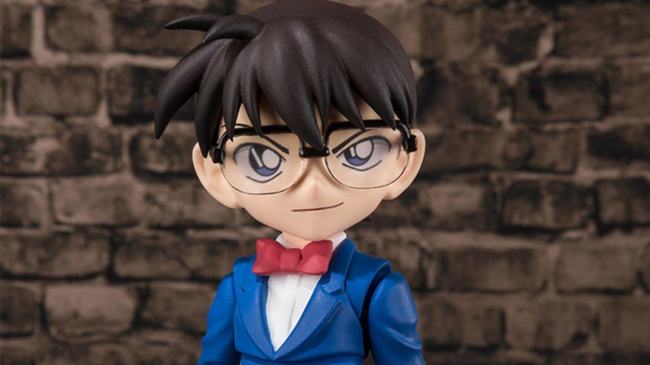 『名探偵コナン』アクションフィギュアシリーズ第1弾「江戸川コナン」発売決定!5種の表情&付属品で劇中のシーンを再現