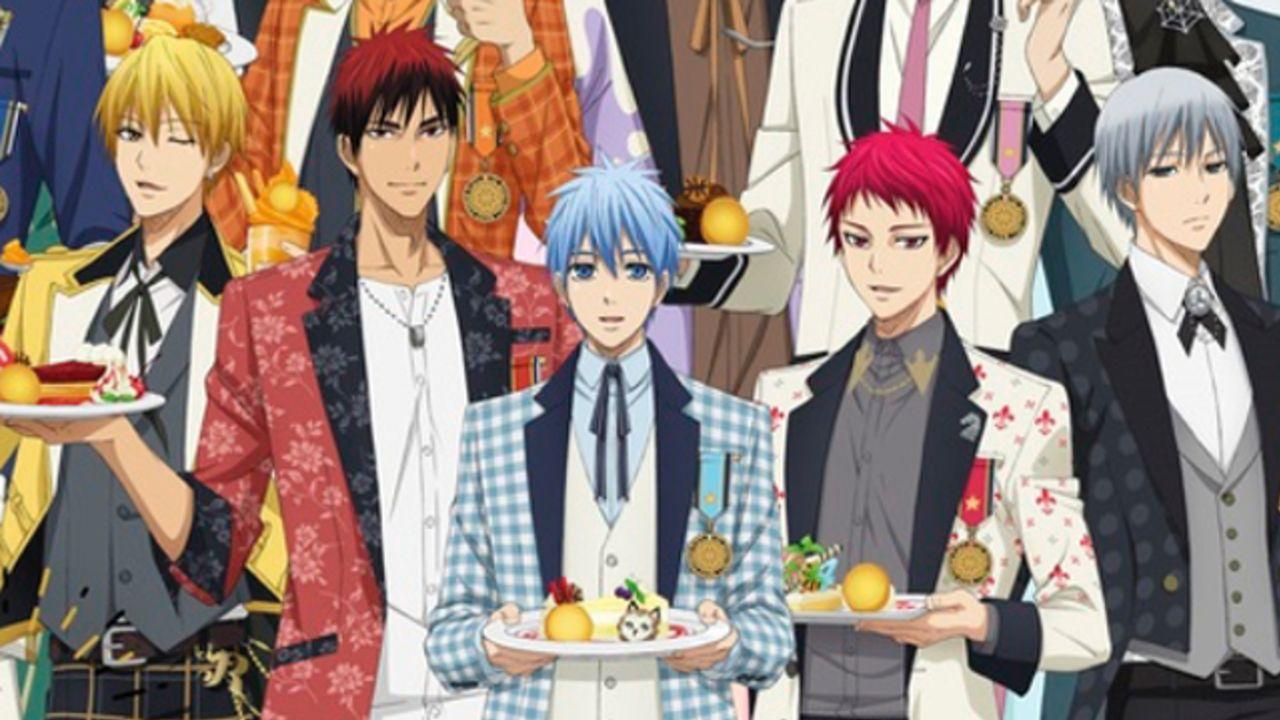 『黒バス』J-WORLD「Sweets Style」黛千尋&スペシャルイベント開催決定!総勢12人の新商品&フードが展開!
