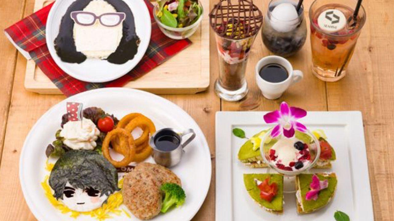 『囚われのパルマ』xカプコンコラボカフェ開催中!クオリティの高い華やかなフードやドリンクが美味しそう!