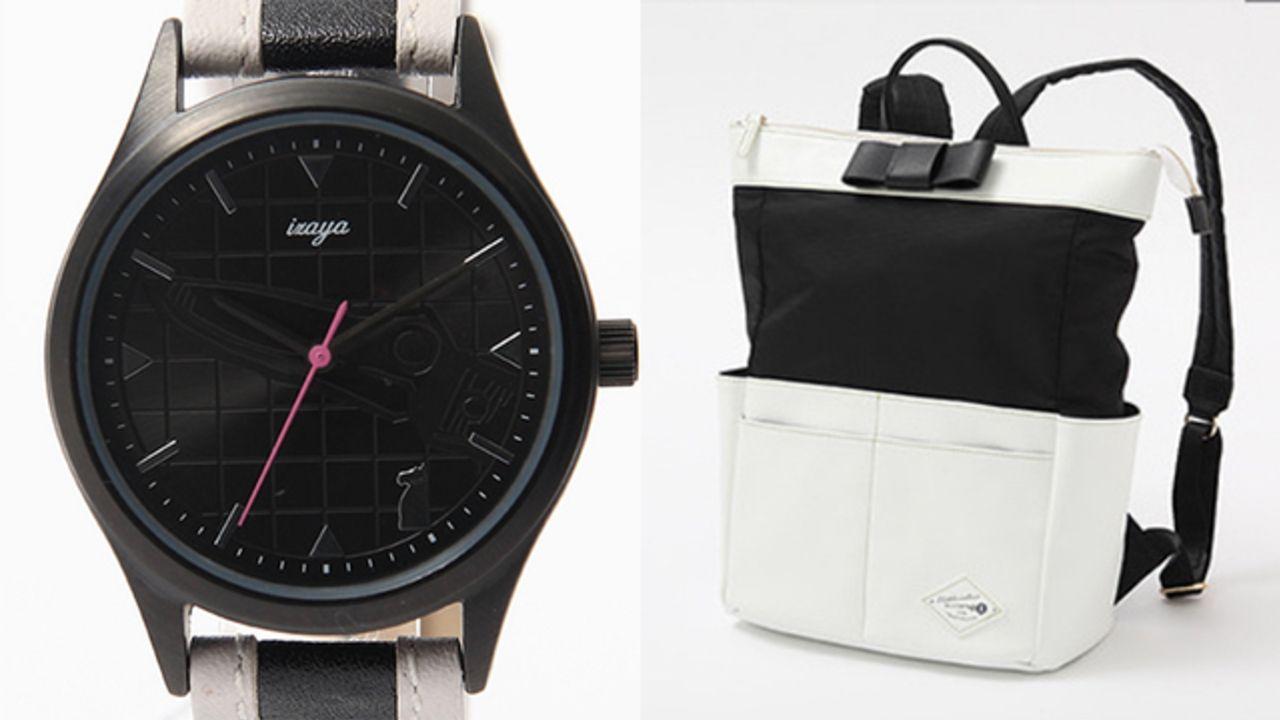 「人、ラブ!」英字デザインも!『デュラララ!!』静雄&臨也をイメージした腕時計・財布・リュックが登場