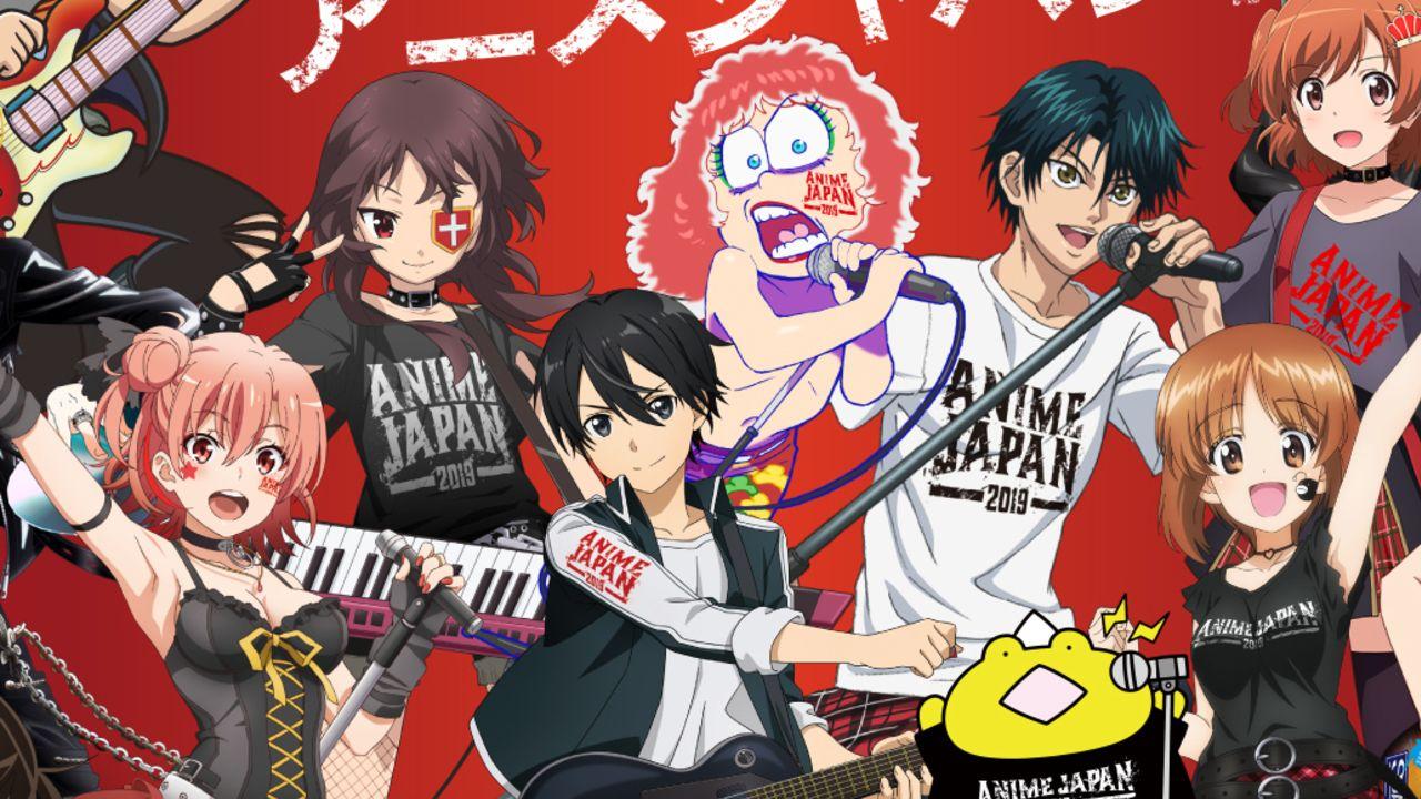 世界最大級のアニメイベント 「AnimeJapan 2019」描き下ろしビジュアル&ステージ第1弾プログラムが解禁!