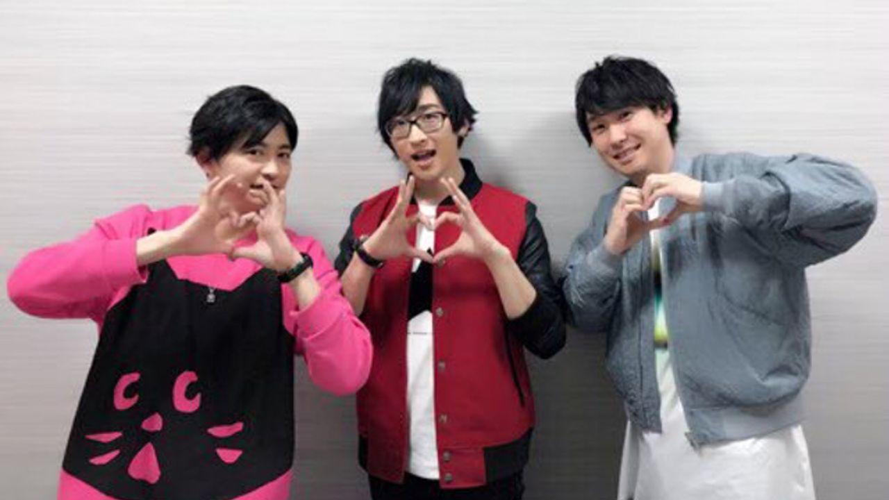 「うた☆プリ放送局」新規コメントを収録したDJCD発売決定!インフルを発症した寺島拓篤さんが公録で仕事復帰
