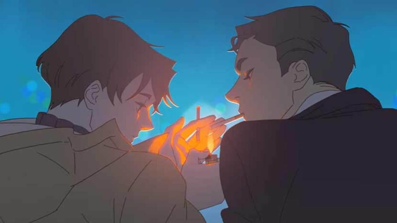 「綺麗」「全世界の腐女子に見て欲しい」大きな話題となったBLアニメ『過呼吸』日本語吹替版DVD付きコミックス発売決定!