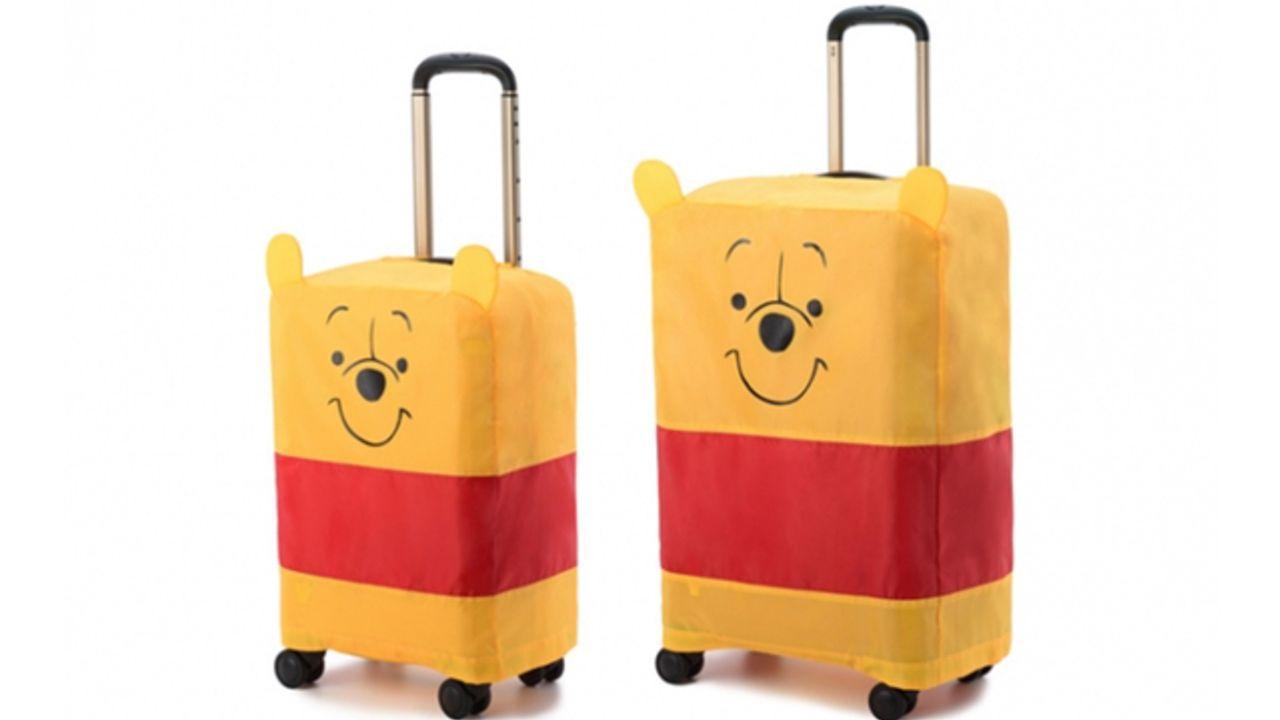 小さな耳が可愛すぎる『くまのプーさん』カバー付きスーツケースが登場!内装もプーさんカラーで超キュート!