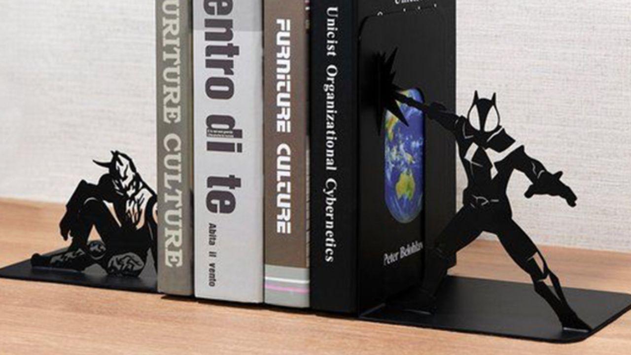 『仮面ライダー』555・電王・W・オーズの決め技&ポーズをシルエットで表現!インテリアにも馴染みやすいブックエンド登場